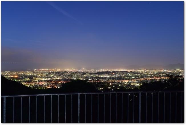 福岡県油山からの夜景