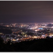 福岡の夜景で四王寺山って?住所はどこ?温泉も楽しめるって本当?