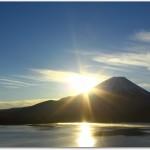 富士山と初日の出が写真にとれるスポットはどこ?時間は?登山の装備は?