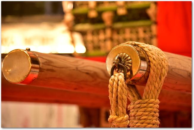 博多祇園山笠の飾り山のアップ